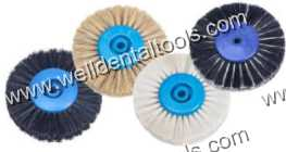 Dental plastic hub lathe hair brushes