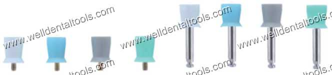 Prophylaxis brush rubber cup screw  Junior Cup